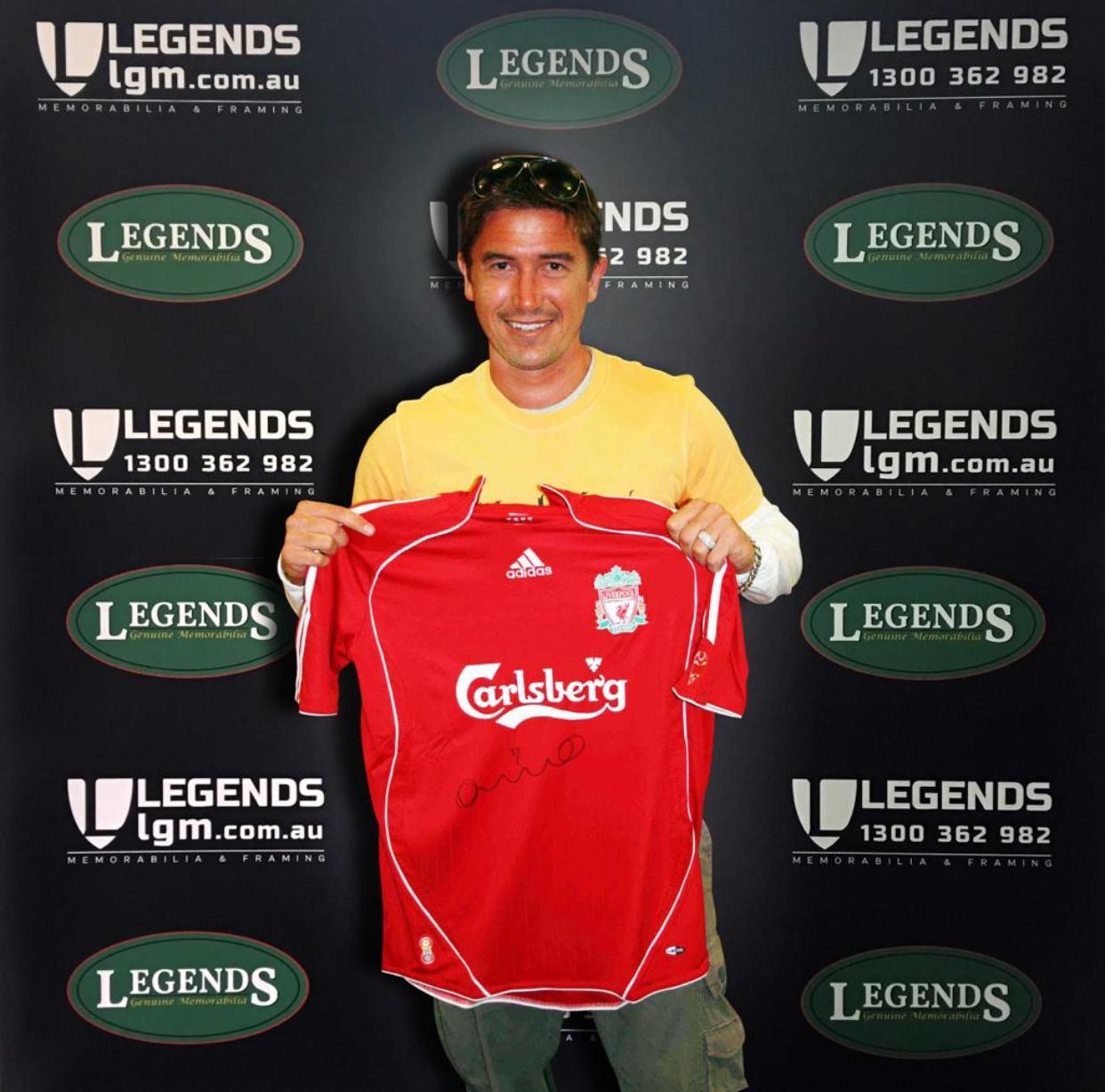 Harry Kewell Liverpool Shirt